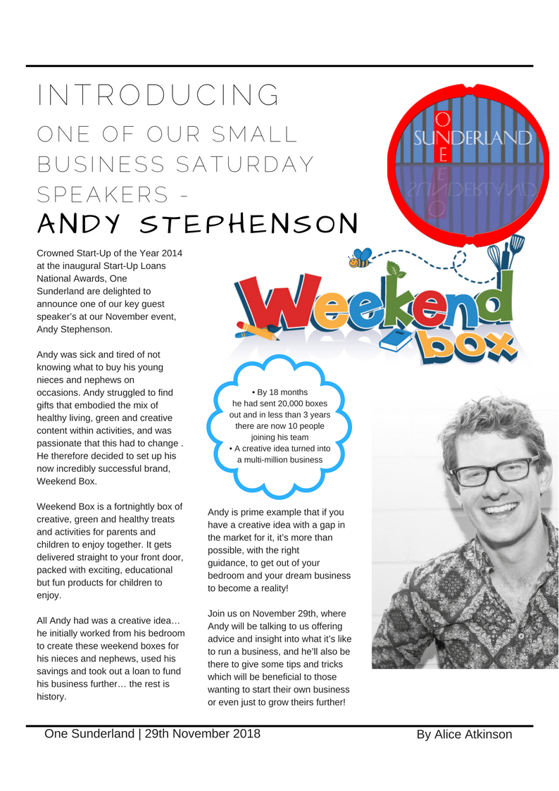Andy Stephenson blog